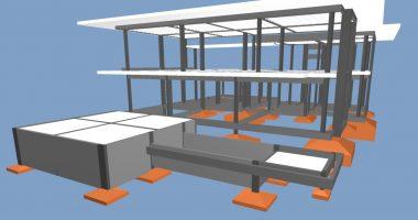Projeto estrutural para residência de alto padrão